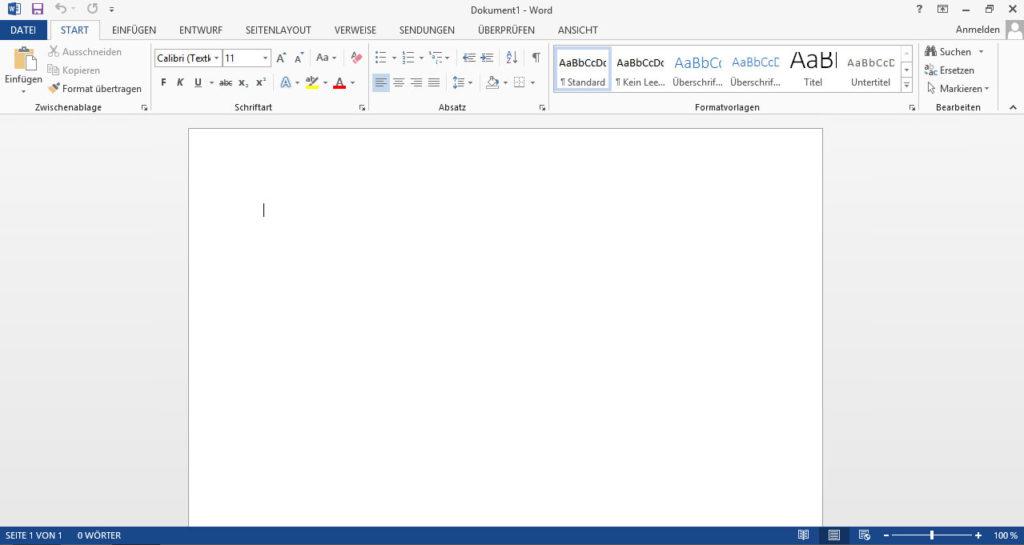 Office 2013 Design: Hellgrau